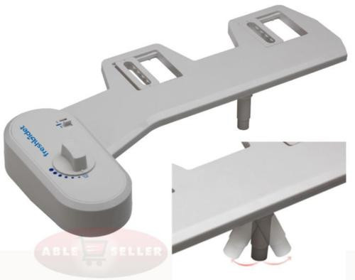 FRESH WATER NON-ELECTRIC ADJUSTABLE ANGLE BIDET TOILET ATTACHMENT