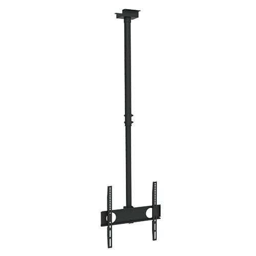 "Extra Long Flat TV Ceiling Mount 32""~55"" Tilt/Swivel Ceiling to TV  41.5-60"""