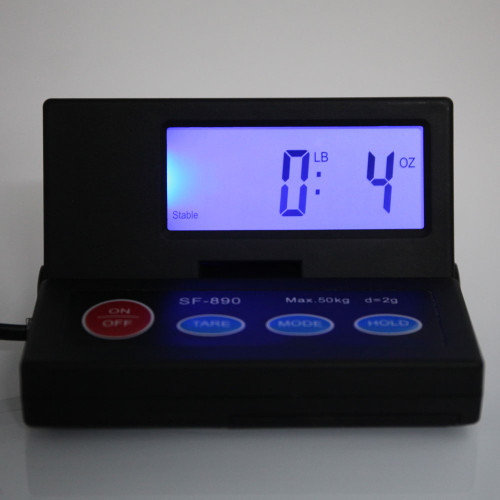 Weighology Digital Shipping Scale Postal Parcel Scale 110 Lbs Capacity W/ Ac Adapter