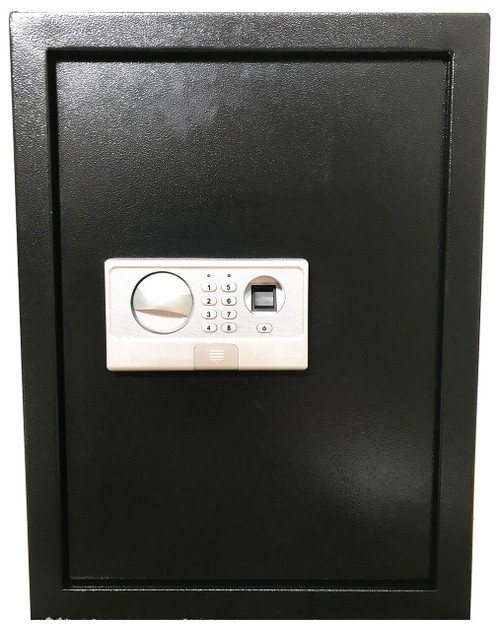 FINGERPRINT DIGITAL ELECTRONIC FLAT RECESSED WALL HIDDEN SAFE SECURITY BOX JEWELRY GUN BLACK