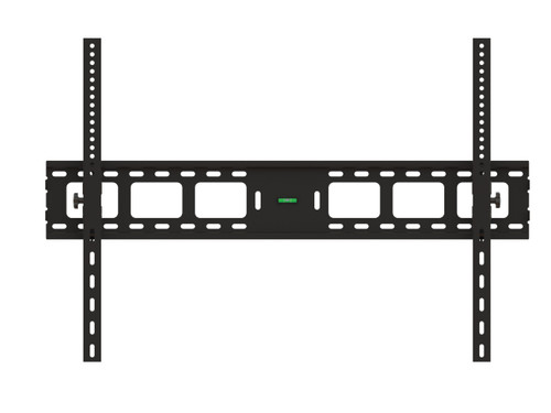 "Extra Large Tilting TV Wall Mount For Screen Size 55-120"" Solid back plate & verticals, lockable w/padlock for added security"