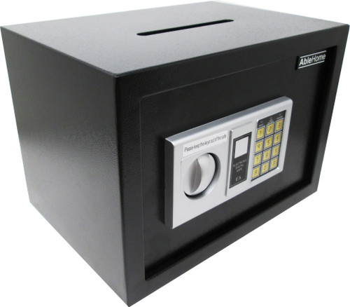 ELECTRONIC DIGITAL CASH DROP DEPOSITORY SAFE RETAIL SECURITY VAULT TOP SLOT