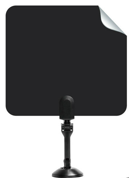 Able Signal AMPLIFIED INDOOR THIN FLAT HDTV TV ANTENNA 40 MILES 5dB GAIN VHF UHF WITH STAND