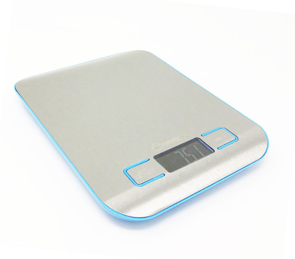 Weighology Compact Digital Kitchen Scale Diet Food Postal Mailing 5KG/11LBS x 1g