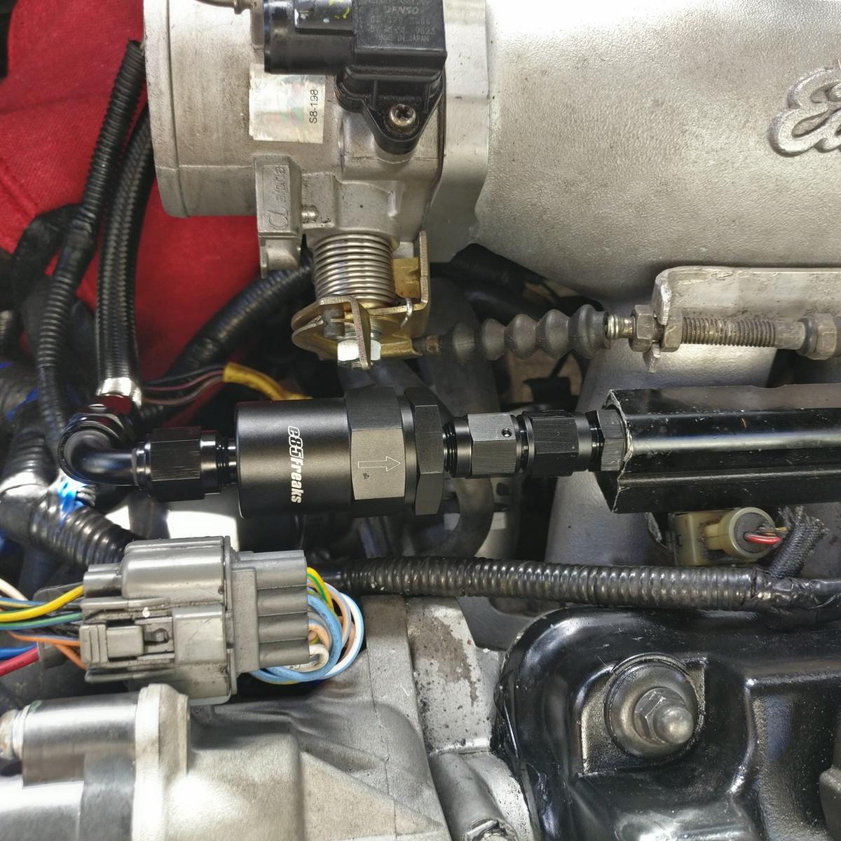 jbtuned honda ef civic da integra crx fuel line tuck kit  89 honda fuel filter replace #15