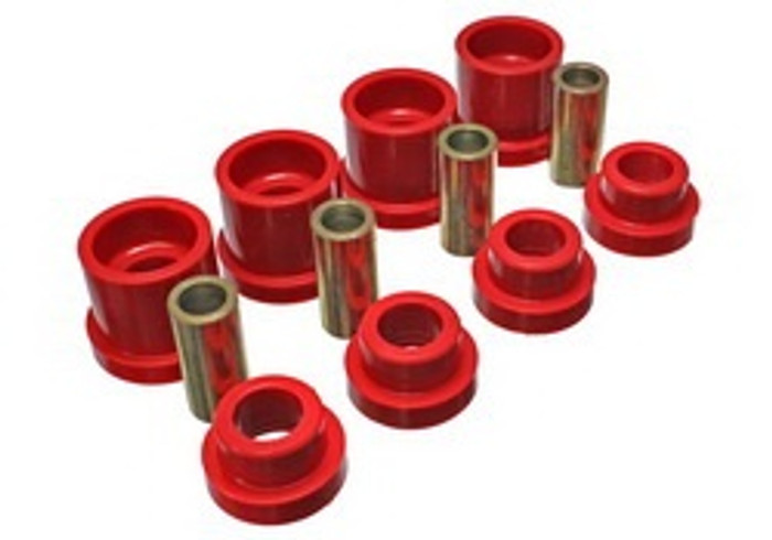 Energy Suspension Rear Sub frame Bushings Nissan 240sx red