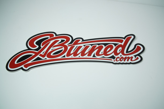 JBtuned Diecut Sticker