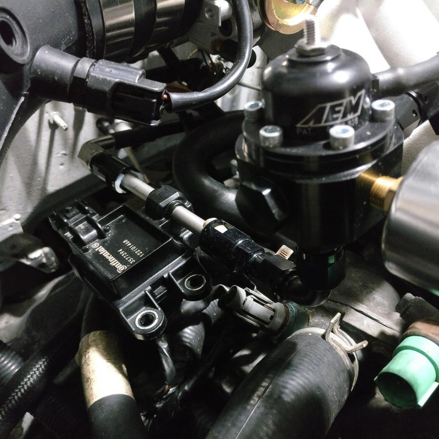 JBtuned EG EK Civic DC Integra B-Series Flex Fuel e85 Fuel System Conversion