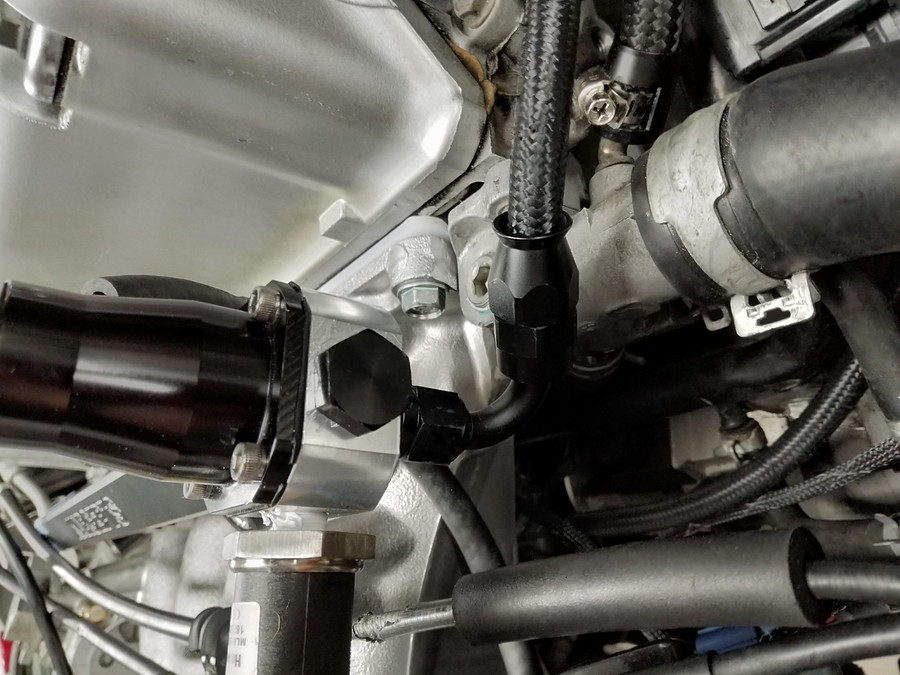 Regulator mounted Directly to the fuel rail