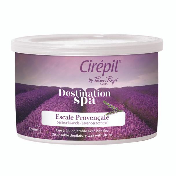 Cirepil Destination Spa Escale Provencale Lavender Scent 400g Wax Tin