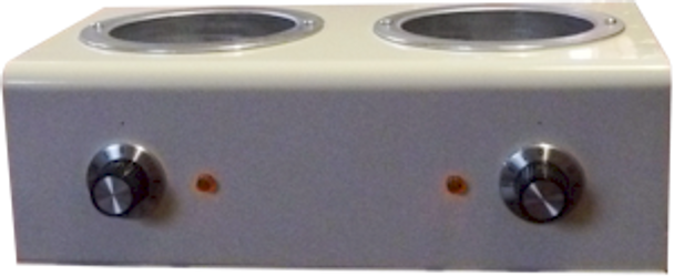 Wax Warmer - Professional Double heater with slots for two tins