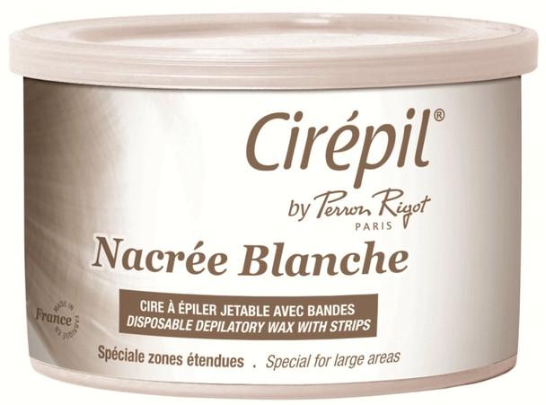 Picture of 400g Cirepil Nacree Blanche Depilatory Wax Tin