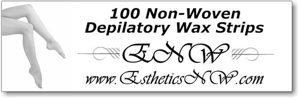 """100 non-woven strips, 3""""x8"""""""