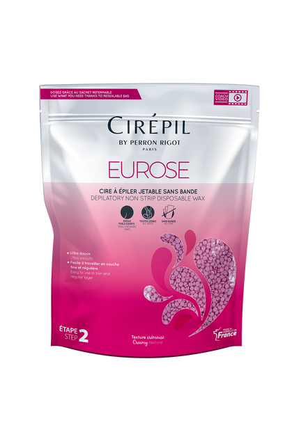 Cirepil Eurose non-strip wax 800g bag of beads