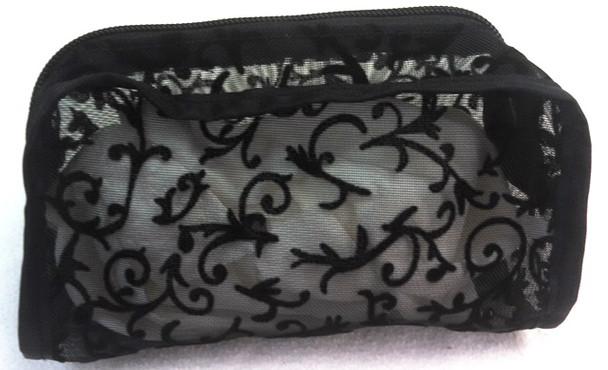 Travel size makeup bag