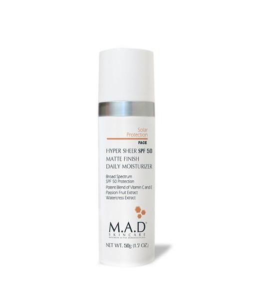 MAD Hyper Sheer Matte SPF 50 for Face
