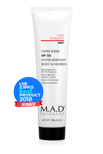 MAD SPF Water Resistant SPF 50 Body Lotion