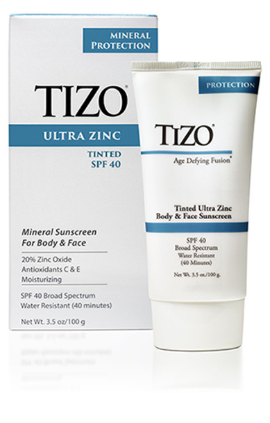 TIZO Ultra Zinc Body and Face Mineral SPF 40