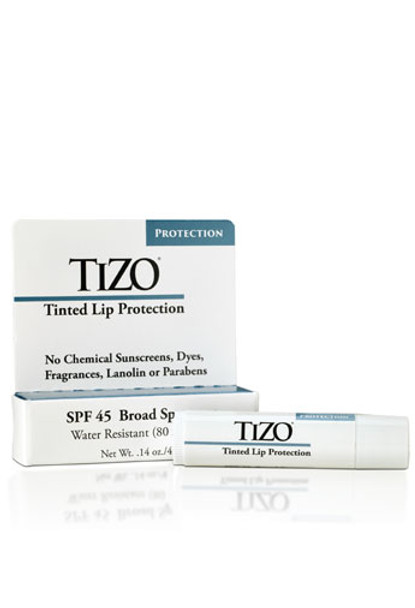 TIZO Tinted Mineral Lip Protection SPF45
