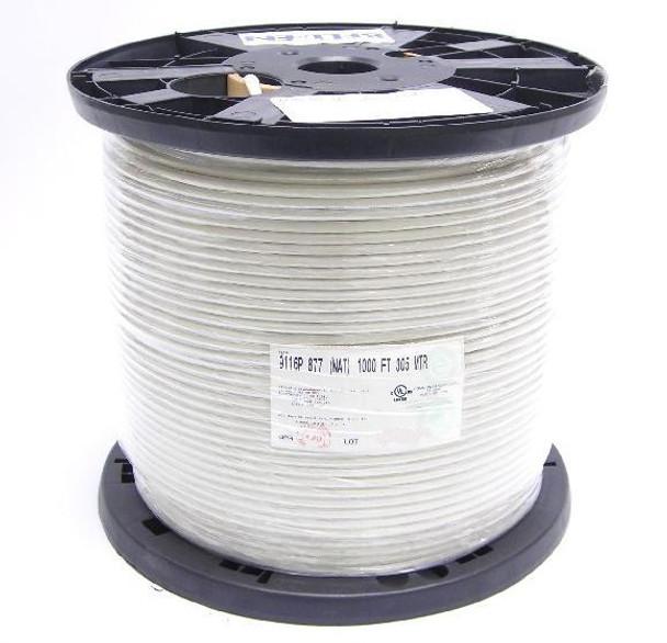 Belden RG6 Coaxial Cable CMP 9116P 877 NAT