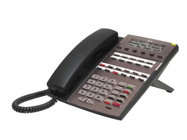 DSX 22-Button Display Telephone, Black