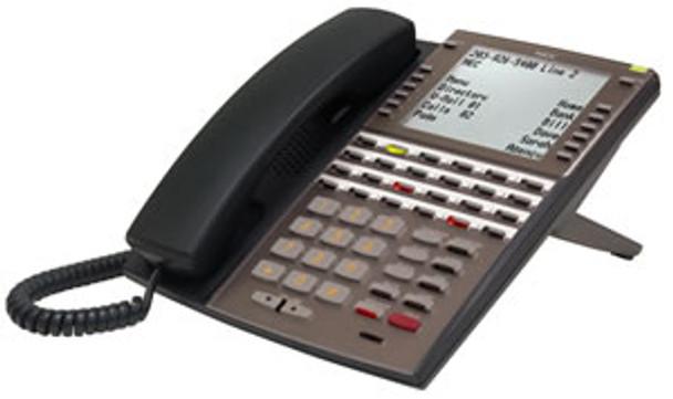 DSX 34-Button Full-Duplex Backlit Super Display Tel Black