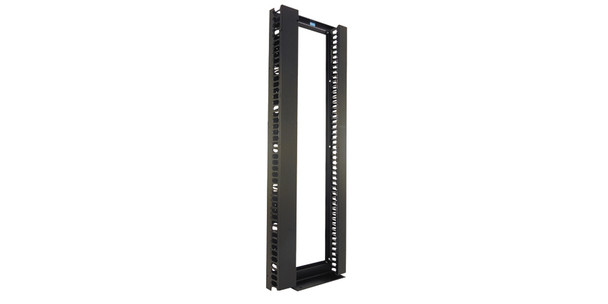 Chatsworth 7'  Rack & Wire Management, Black