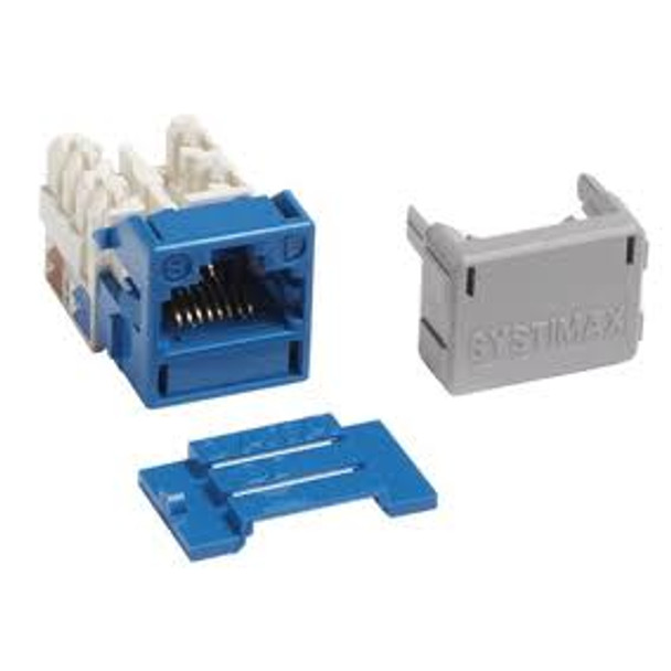SYSTIMAX Cat 6A GigaSPEED X10D MGS600 Information Outlet - BLUE