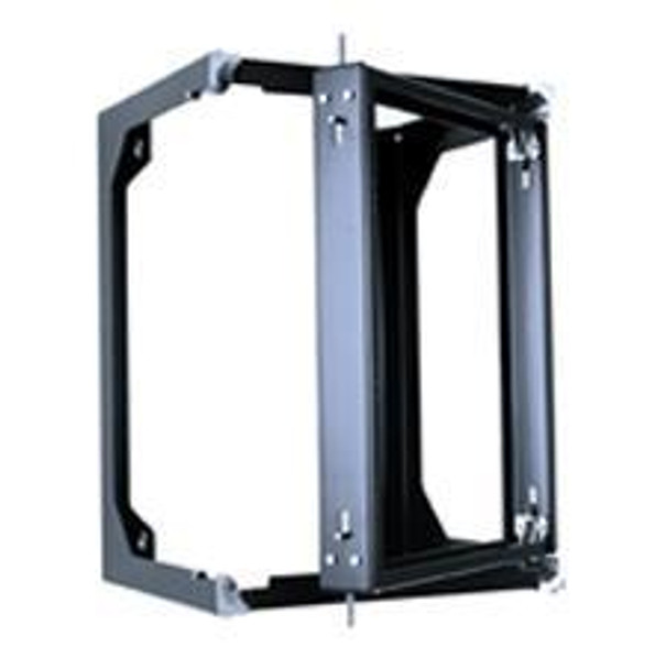 CHATSWORTH Standard 13 RMU Swing Gate Wall Rack Black