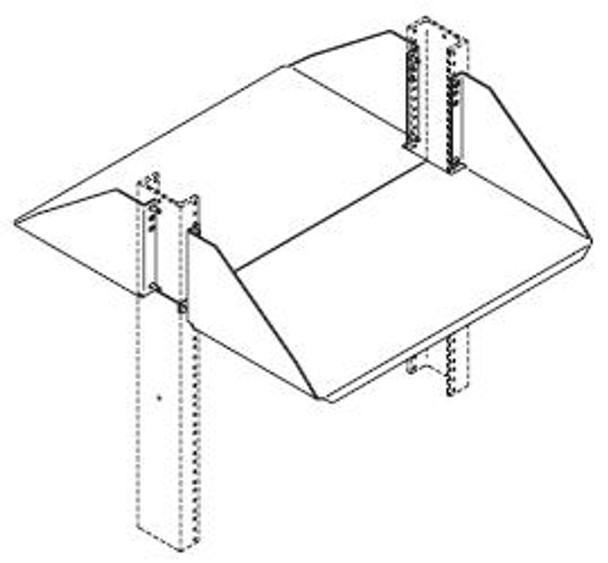 CHATSWORTH 40108-719, double side shelf