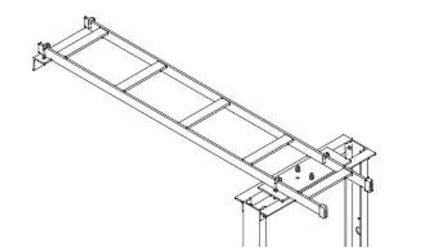 CHATSWORTH 11911-712, 4 foot ladder kit