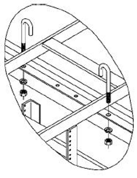 CHATSWORTH 11308-001, J bolt kit