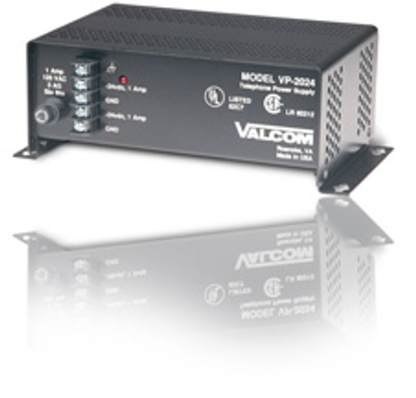 Valcom  VP-2024  Power Suppy, 2 Amp, 24 VDC, Wall Mount