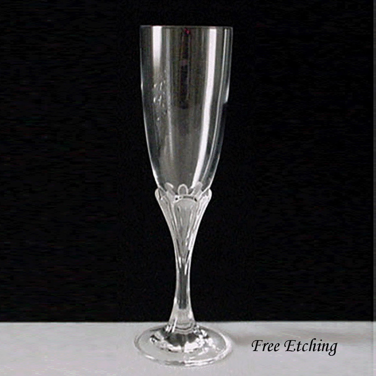 Crystal Champagne Flutes Wedding Etched Champagne Glasses Glass Etching Fever