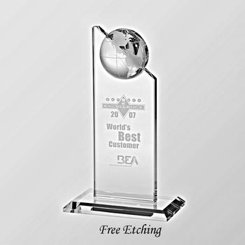 Globe Pinnacle Award World Recognition Award