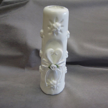 Hand Carved Sculpted Unity Candle Custom Wedding Candles