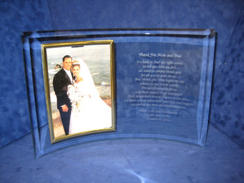 Personalized Picture Frame Perfect Wedding Gift for Parents for Thank You Gift