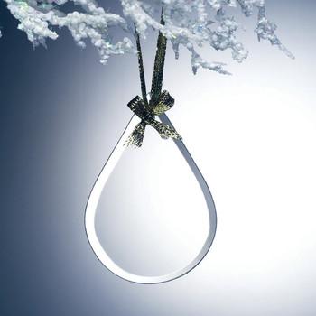 Teardrop Ornament Plain