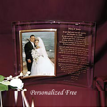 Personalized 8 x 10 Photo Frame for Parents Gift Unique Wedding Gifts