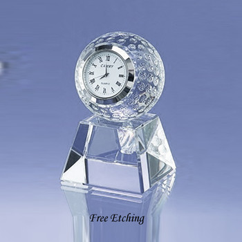 Golf Ball Clock  Awesome Gift for Golfers!