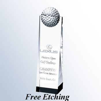 Golf Ball Tower Trophy Trophy Gift Ideas