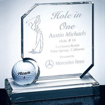 Hole in One Award Golf Trophy