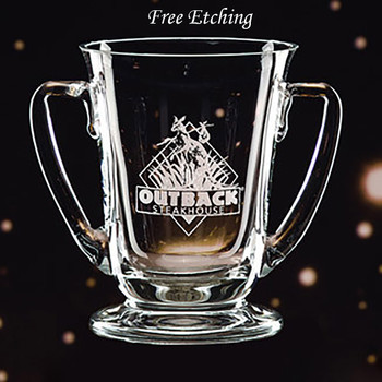 Regetta Crystal Trophy Cup Engraved Gifts