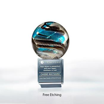 Helix Award Glass Art Award