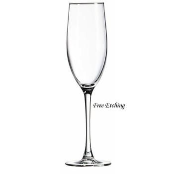 Connoisseur Toasting Flutes Monogrammed Champagne Flutes