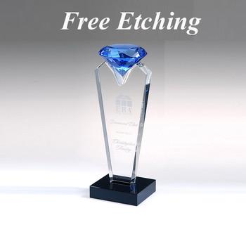 Blue Rising Diamond Award Make Us Your New Award Company!
