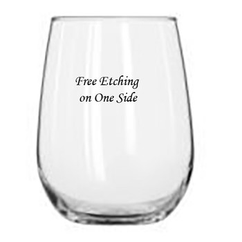 Stemless White Wine Glass Event Gifts
