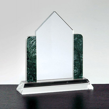 Crystal House with Marble Sides Real Estate Awards