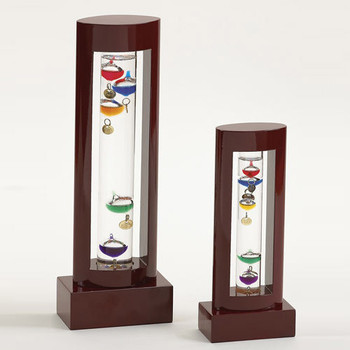 Wood Galileo Thermometer Birthday Gifts