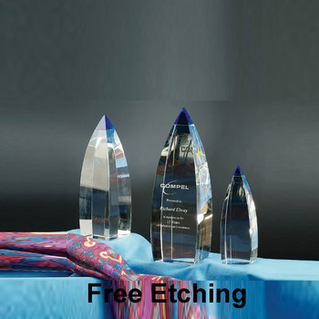 Vetri Crystal Award Recognition Trophies